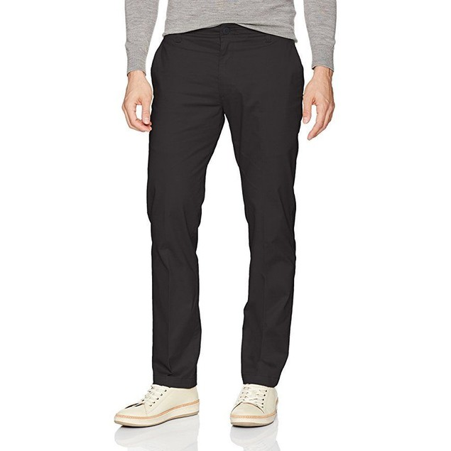 LEE Men's Performance Series Extreme Comfort Slim Pant, Black, 34W x 3