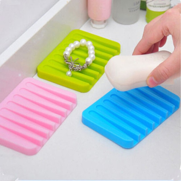 Bathroom Silicone Soap Dish
