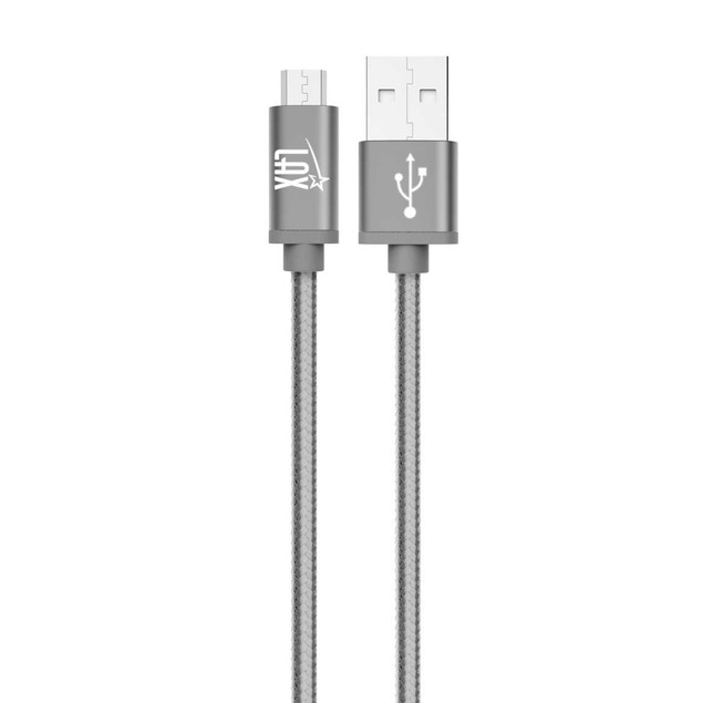 Strong micro USB cable for Android smartphones from Samsung, LG (6ft long)