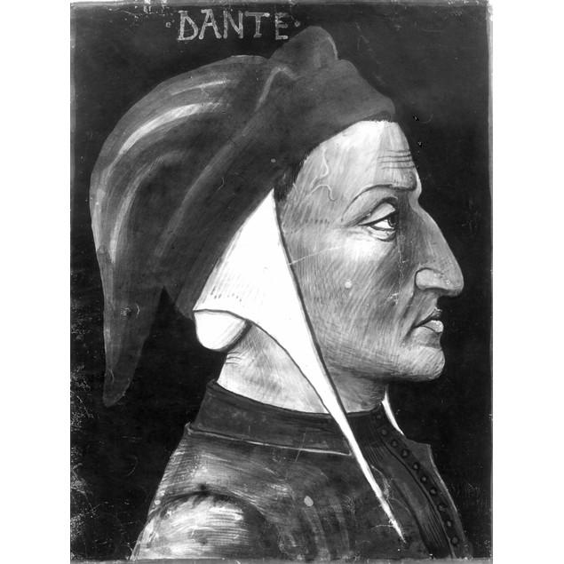 Dante Alighieri (1265-1321). /Nitalian Poet. Portrait By An Unknown 14Th Ce