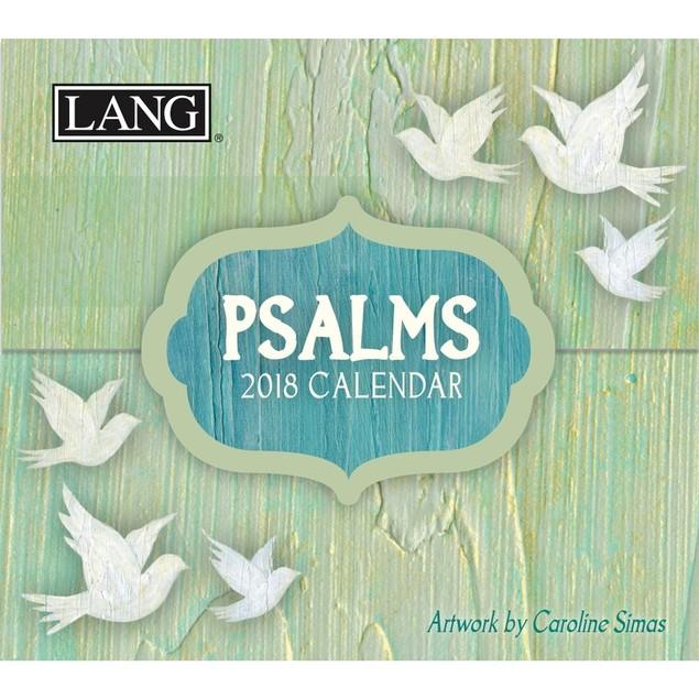 Psalms Mini Desk Calendar