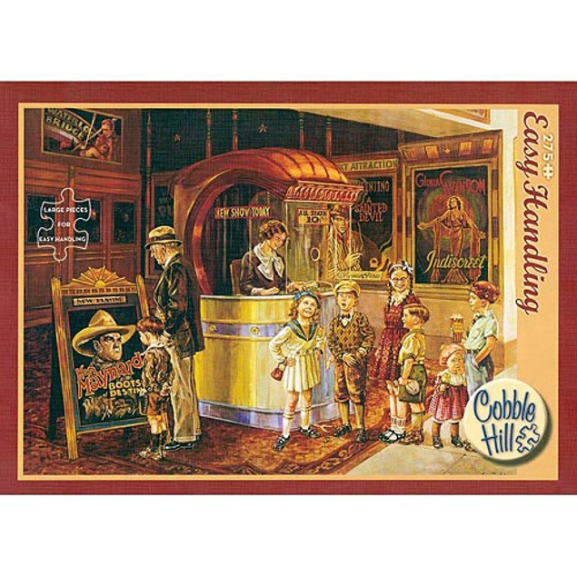 Saturday Matinee 275 Piece Puzzle, More Puzzles by Go! Games