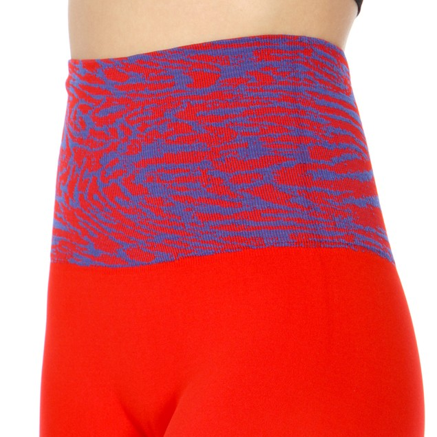 2-Pack: Abstract Horizontal Waist Band Cotton Leggings (One Size)