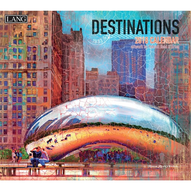 Destinations Wall Calendar, Scenic America by Lang Companies