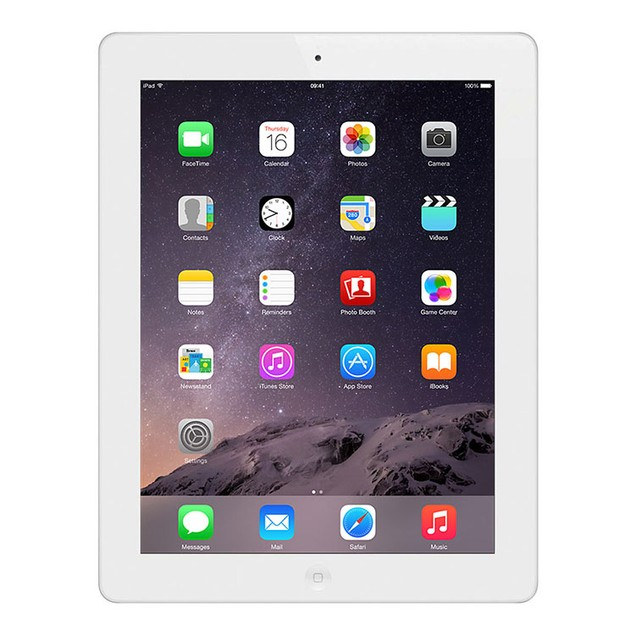 Apple iPad 4 ME199LL/A 32GB Sprint + FREE Otterbox Case (Grade B)