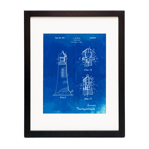 Lighthouse Patent Poster