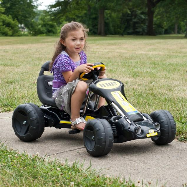 Lil' Rider Black Stealth Pedal Powered Go-Kart
