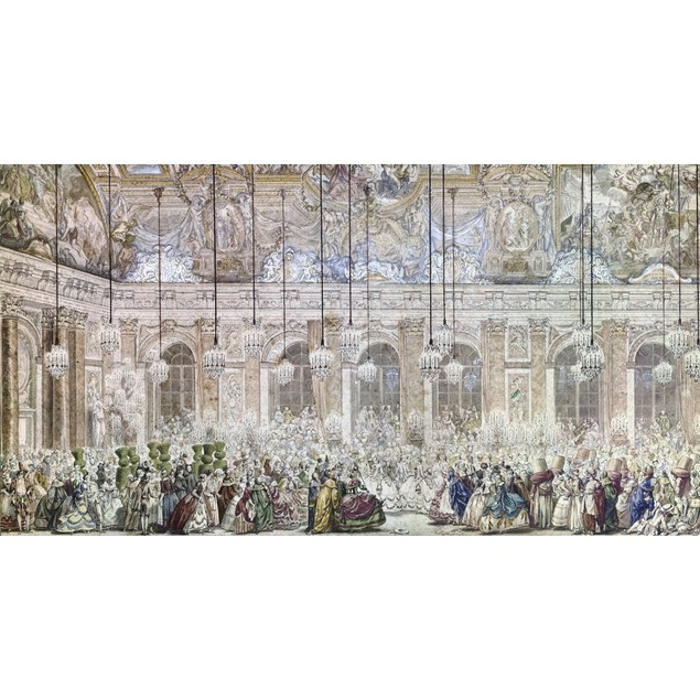 Versailles: Masked Ball. /Nmasquerade Ball Given At The Palace Of Versaille