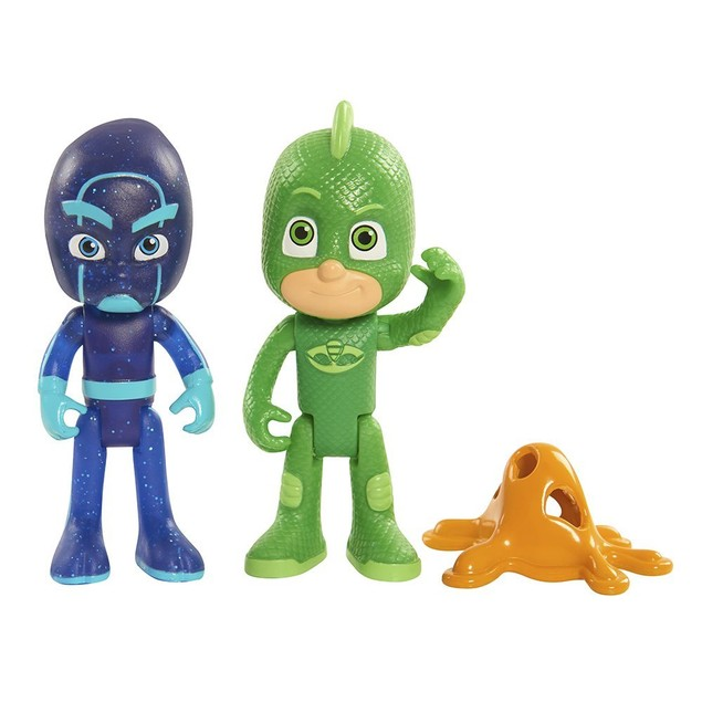 PJ Masks Figure Pack Set Gekko/Night Ninja Toy