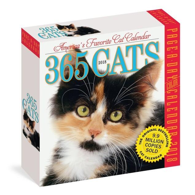 365 Cats Desk Calendar, Assorted Cats by Calendars