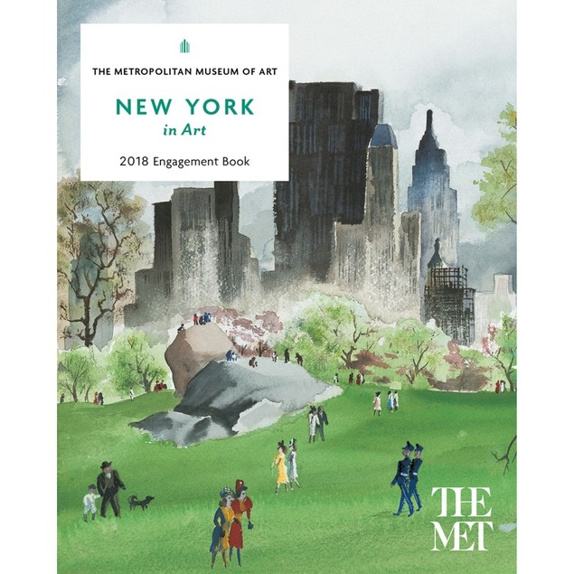 New York in Art Planner, Fine Art by Abrams