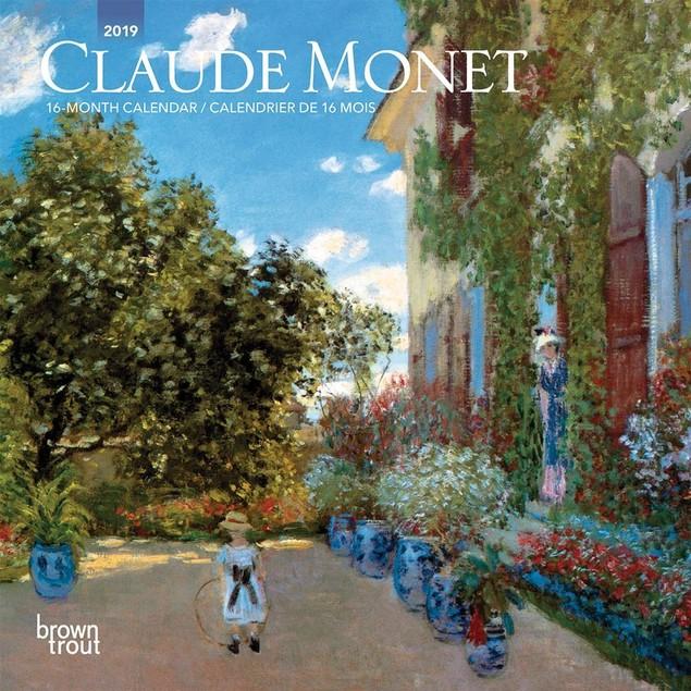 Monet Mini Wall Calendar, Fine Art by BrownTrout