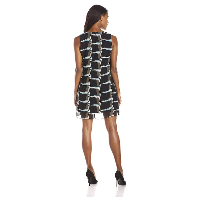 NIC+ZOE Women's On The Edge Dress, Multi, Large