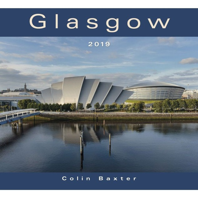 Glasgow Wall Calendar, Scotland by Calendars