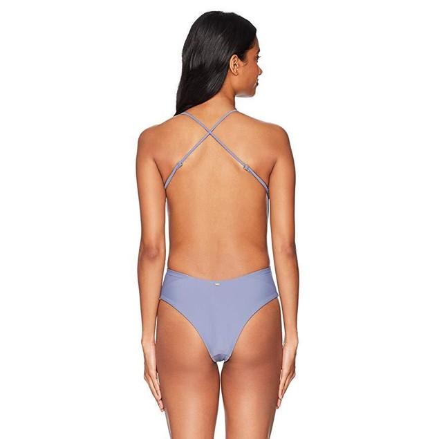 Rip Curl Women's Designer Surf Lattice One Piece Swimsuit, Purple/Purp