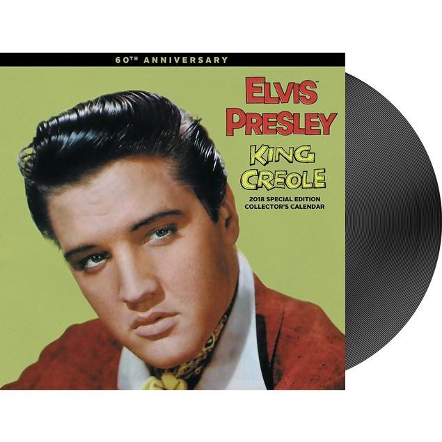 Elvis Presley Special Edition Deluxe Wall Calendar, Rock by Calendars