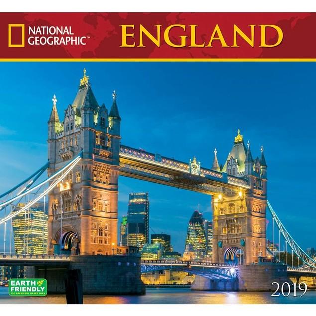 England NG Wall Calendar, England by Calendars