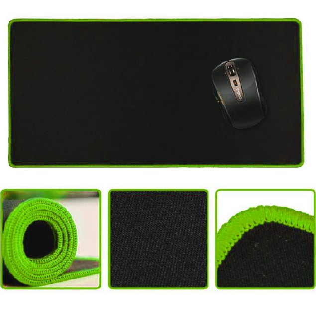 "23.62 x 11.81 x 0.08"" Rubber Gaming Mouse Pad"