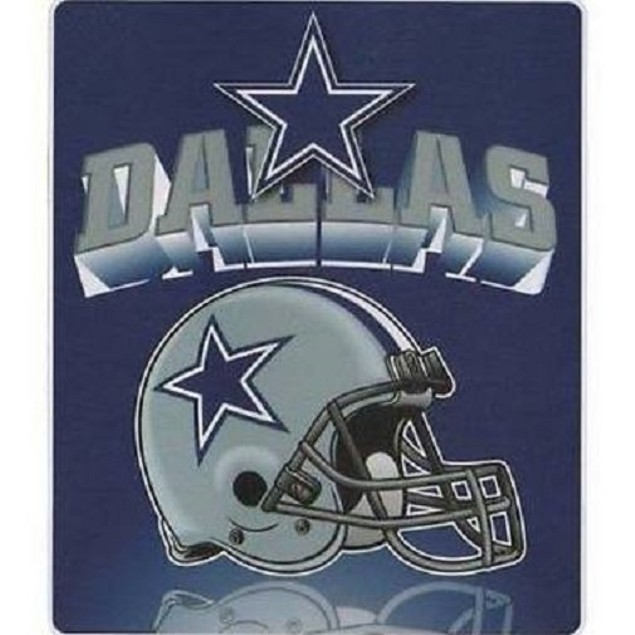 "Dallas Cowboys NFL Northwest ""Mirror"" Fleece Throw"