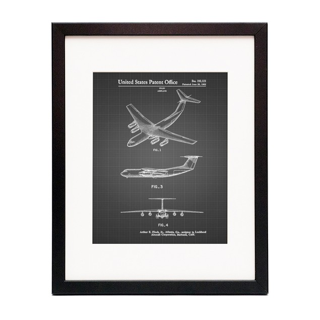 Lockheed C-141 Starlifter Patent Poster