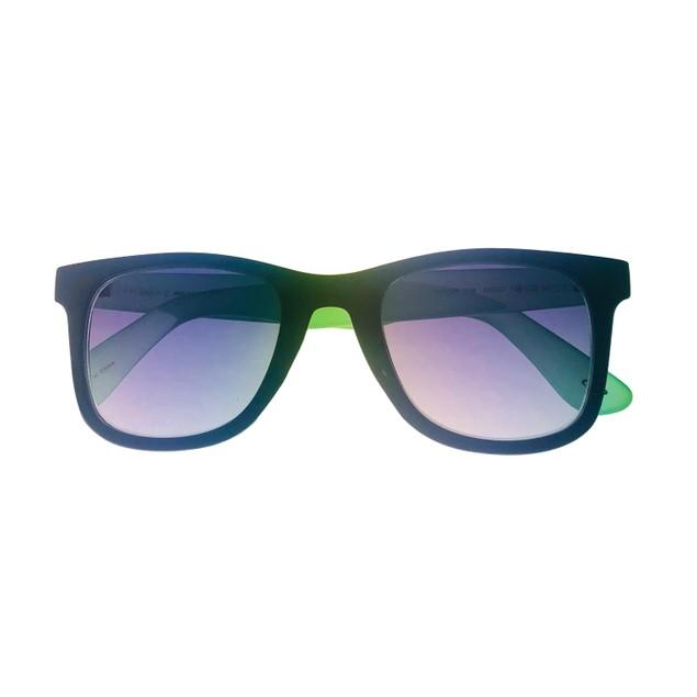 Skechers Mens Sunglass Shing Black/ Green  Square Plastic, SE8028. 1B