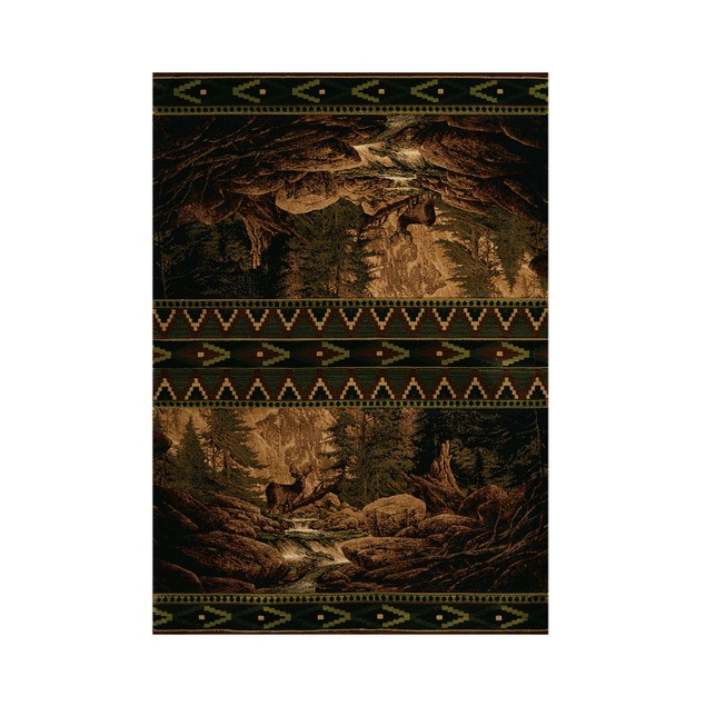 United Weavers Buck Falls Lodge Style Carpet Area Rugs