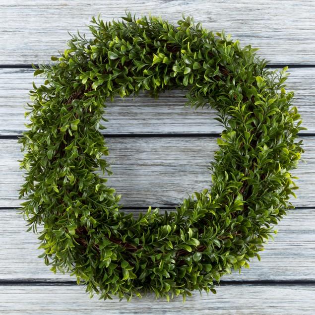 Artificial Hedyotis Wreath by Pure Garden
