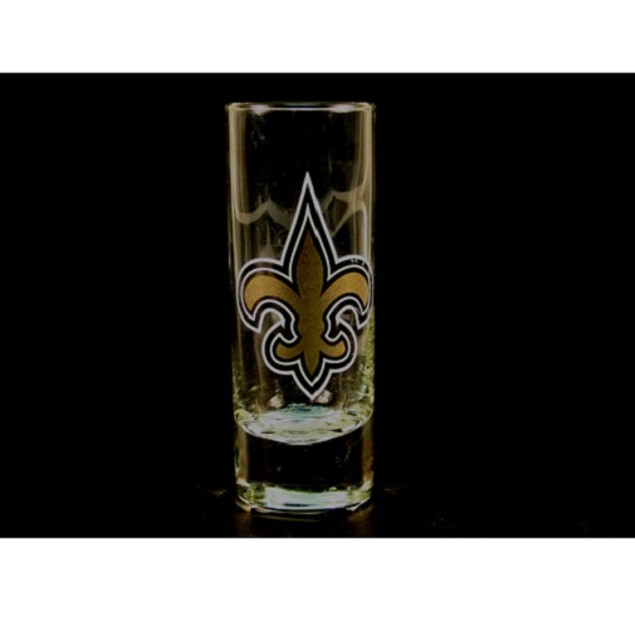"New Orleans Saints NFL ""Hype"" Tall Shot Glass"