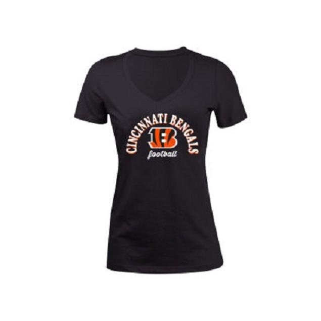 Cincinnati Bengals NFL Women's Checkdown T-Shirt