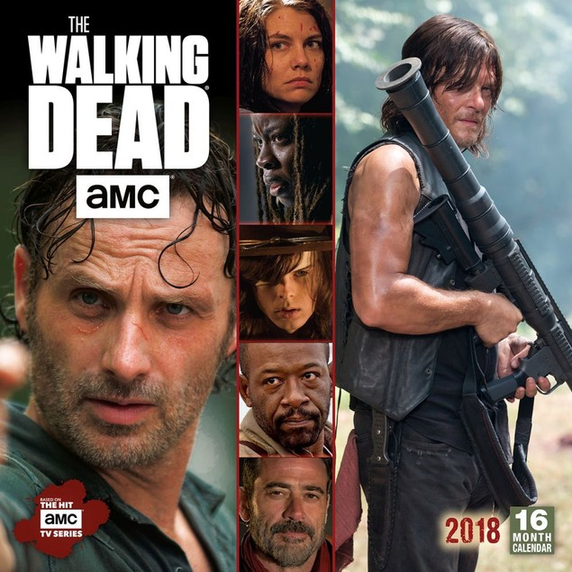 Walking Dead Wall Calendar, Drama TV by Calendars
