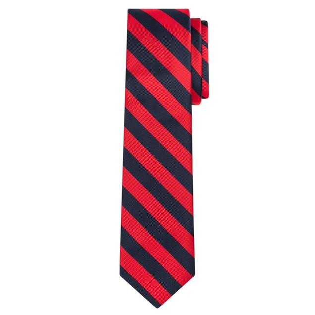 Jacob Alexander Stripe Woven Men's College Striped Extra Long Tie
