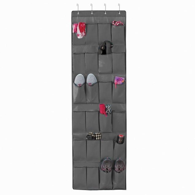 24-Pocket Over the Door Shoe Organizer