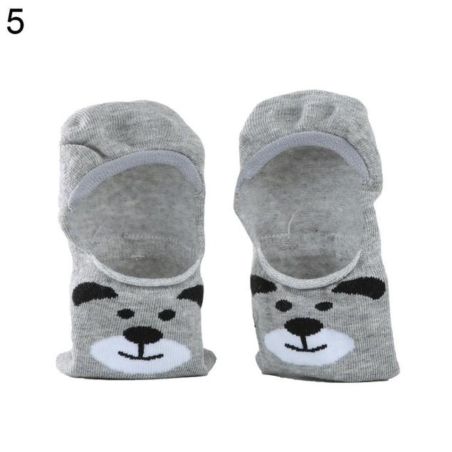 No Show Animal Cotton Socks