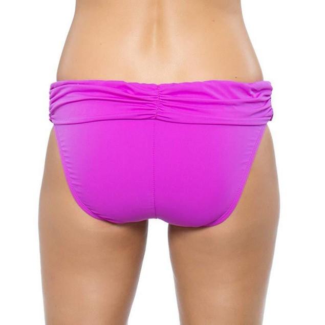 Athena Women's Cabana Solids Banded Pant Raspberry 6