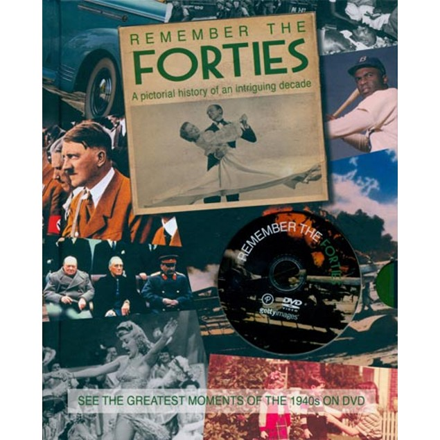 Remember the Forties Book, Historic Events by Parragon Books