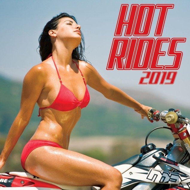 Hot Rides Wall Calendar, Auto Models by Calendars