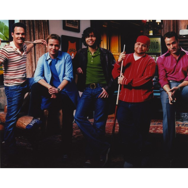 Kevin Connolly Group Picture in Casual Outfit Poster