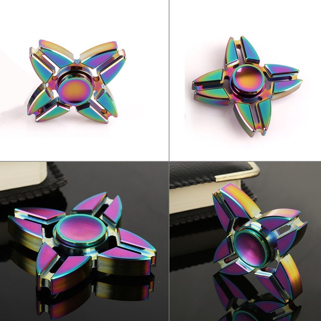 Fidget Spinner High Speed Stainless Steel Bearing ADHD Focus Anxiety Toys