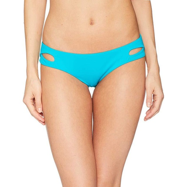 Becca by Rebecca Virtue Women's Tab Side Hipster Bikini Bottom Arcadia