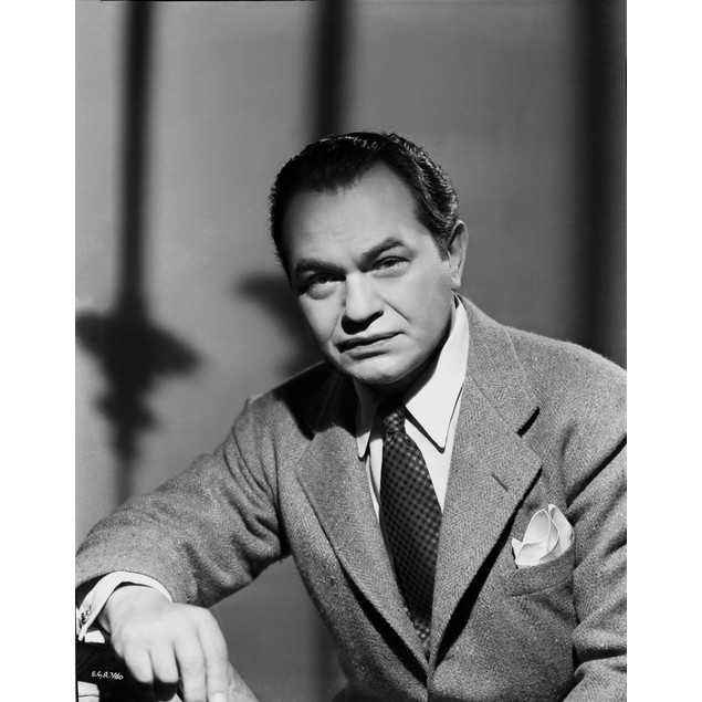 Edward Robinson Portrait in Formal Outfit Poster