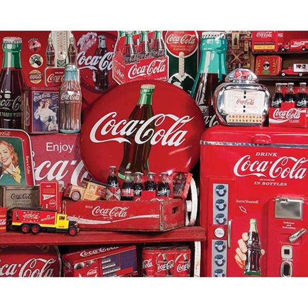 Coca Cola Memories 1500 Piece Puzzle, 1,500 Piece Puzzles by Springbok