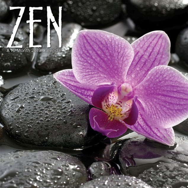 Zen Mini Wall Calendar, More Inspiration by Calendars