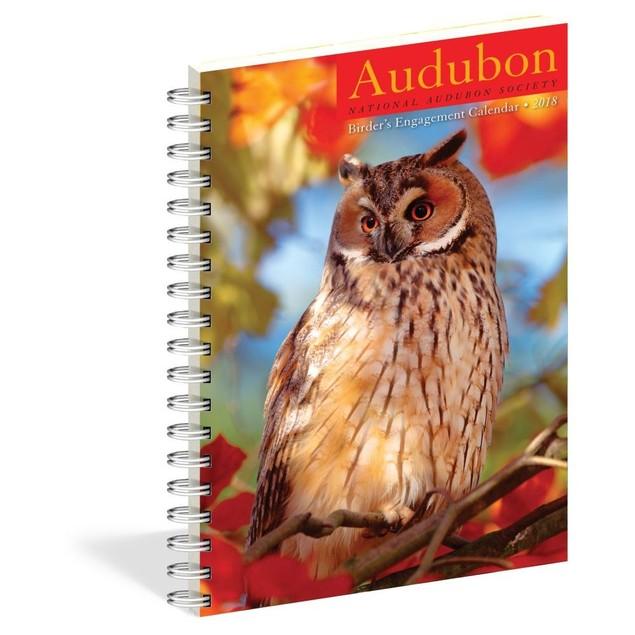 Audubon Birder's Engagement Calendar 2018