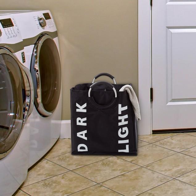 Double Laundry Hamper Sorter