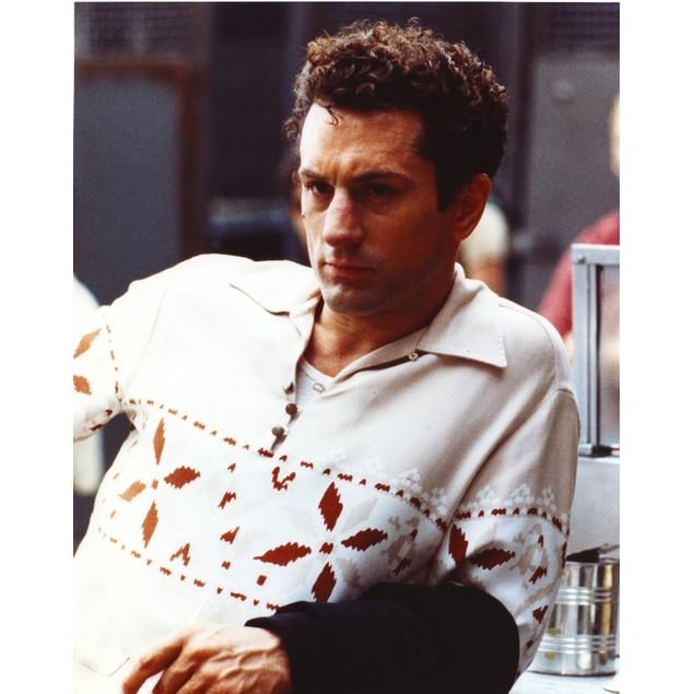 Robert Deniro Posed in White Sweater with Collar Poster