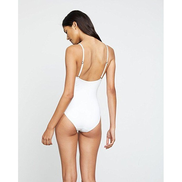 onia Women's Arianna One-Piece White SZ Small