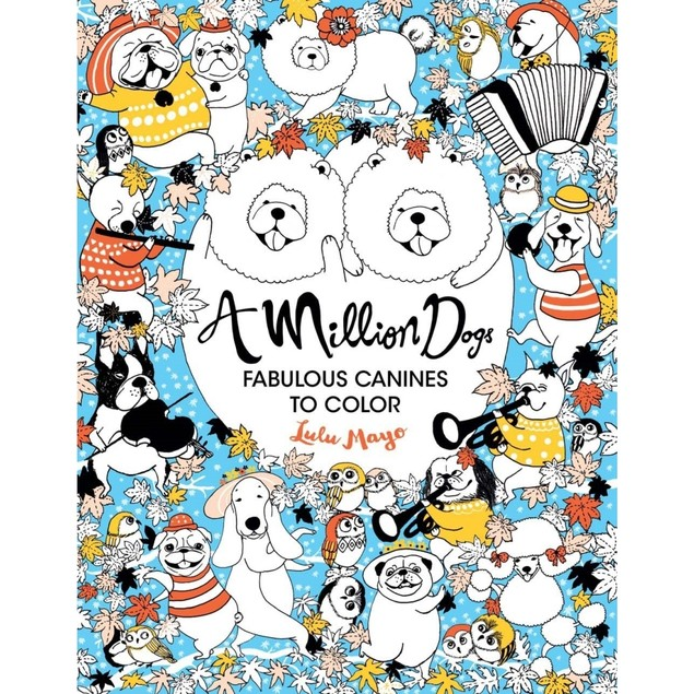 Million Dogs Book, Assorted Dogs by Sterling