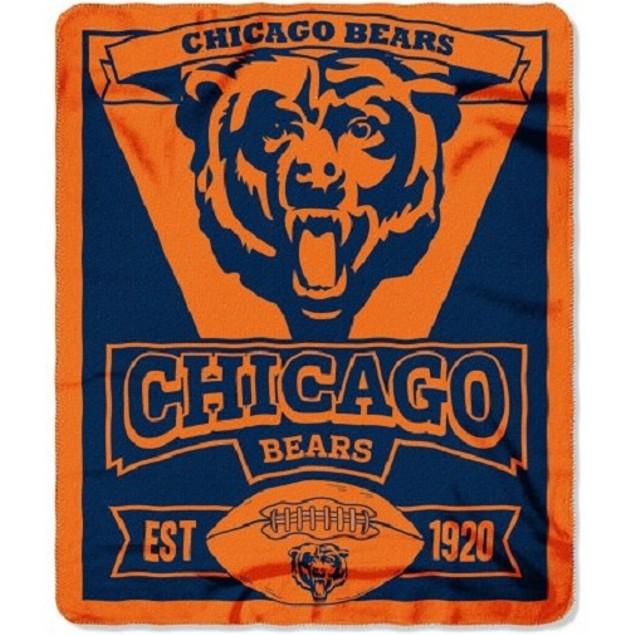 Chicago Bears NFL Northwest Fleece Throw