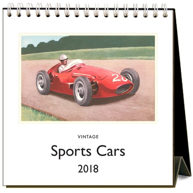 Sports Cars Easel Calendar, Sports Car by Calendars