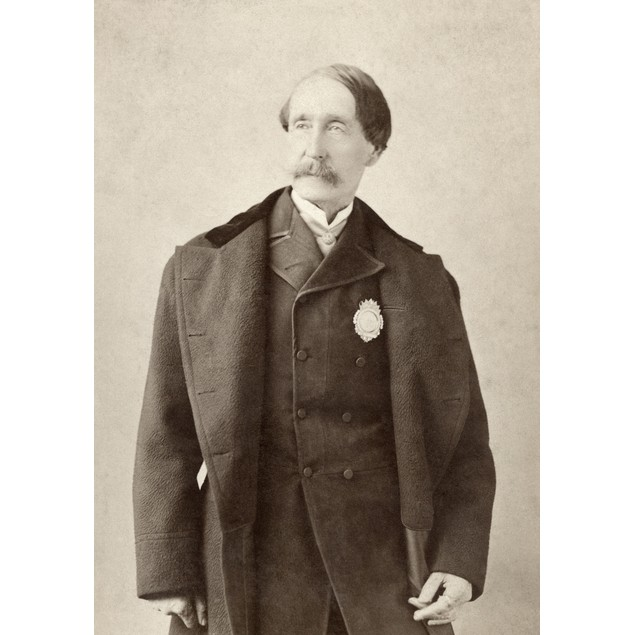 Man, C1890. /Nportrait Of A Man Wearing A Badge, By The Studio Of Napoleon